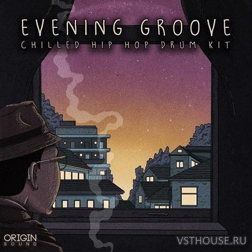 Origin Sound - Evening Groove (Chilled Hip Hop Drum Kit) (WAV)