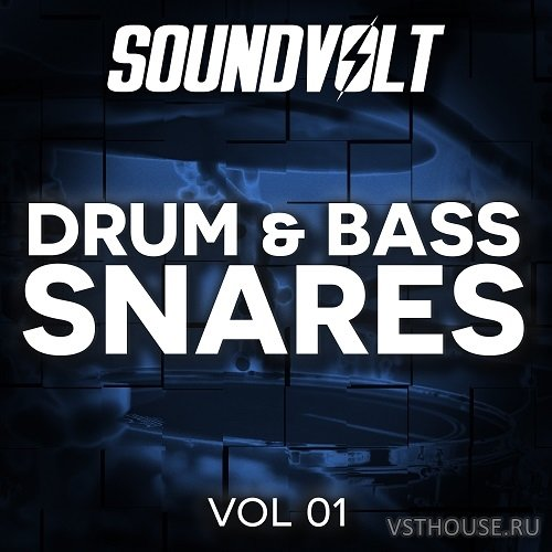 Soundvolt - Drum & Bass Snares Vol 1 (WAV)