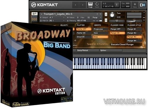 Fable Sounds - Broadway Big Band 2.0.24 (KONTAKT)