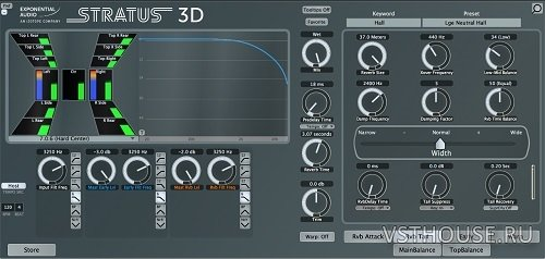 Exponential Audio - Stratus 3D v3.0.0 VST3, AAX (MODiFiED) x64