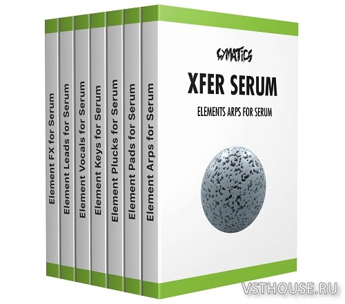 Cymatics - Elements for Xfer Serum Bundle (SYNTH PRESET)