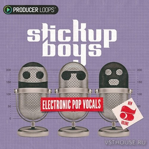 Producer Loops - Stick Up Boys Electronic Pop Vocals Vol 3 (MIDI, WAV)