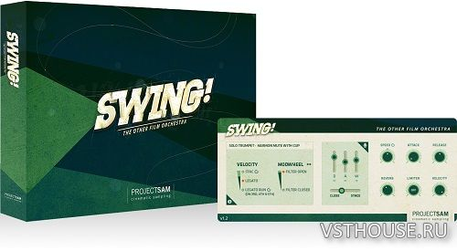ProjectSAM - Swing! v1.2.2 (KONTAKT)