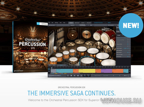 Toontrack - ORCHESTRAL PERCUSSION SDX - PART 2 (SOUNDBANK)