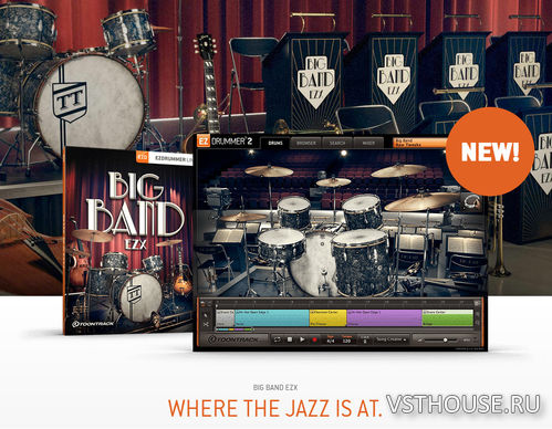 Toontrack - Toontrack Big Band EZX (SOUNDBANK)