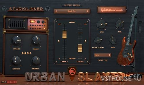 Studiolinked - Urban Slayer – Electric VSTi, AUi WIN.OSX x64