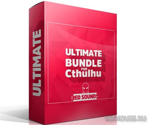 RED SOUNDS - Ultimate Bundle For Cthulhu (MIDI, WAV, CTHULHU)