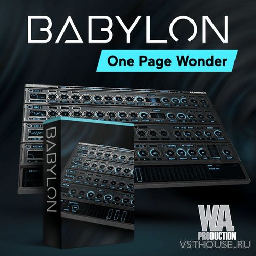 WA Production - Babylon 1.0.1b12 VSTi, VST3, AAX, AUi WIN.OSX x86 x64