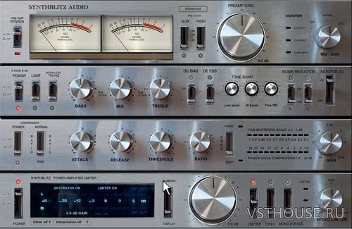 Synthblitz Audio - VA RAXS - Mastering Rack 1.94 VST x64