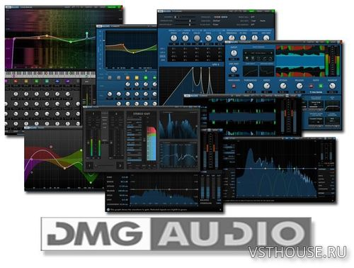 DMG Audio - All Plugins Bundle 2020.03.20 VST, VST3, RTAS, AAX x86 x64