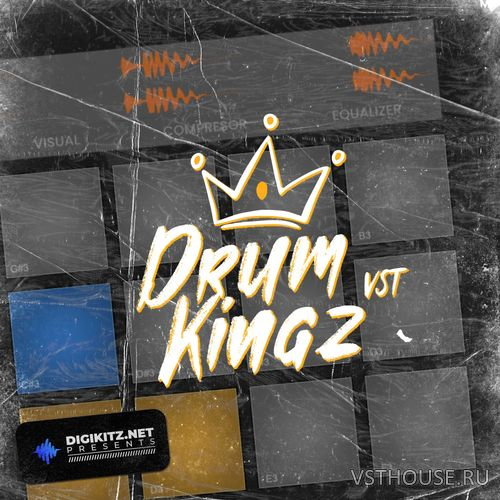 Digikitz - Drum Kingz 1.0 VSTi, VST3, AUi WIN.OSX x86 x64