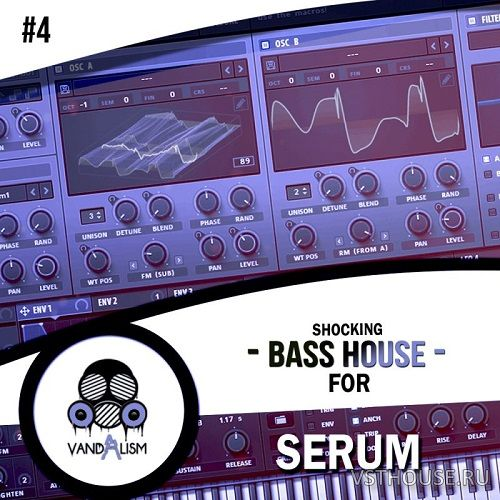 Vandalism - Shocking Bass House For Serum 4 (SYNTH PRESET)