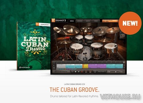 Toontrack - Latin Cuban Drums EZX (SOUNDBANK)