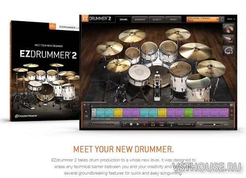 Toontrack - EZdrummer 2 Core Library Update v1.1.2