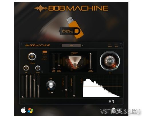 Studio Trap & Pyrit Music - 808 MACHINE VSTi, VSTi3, AUi WIN.OSX