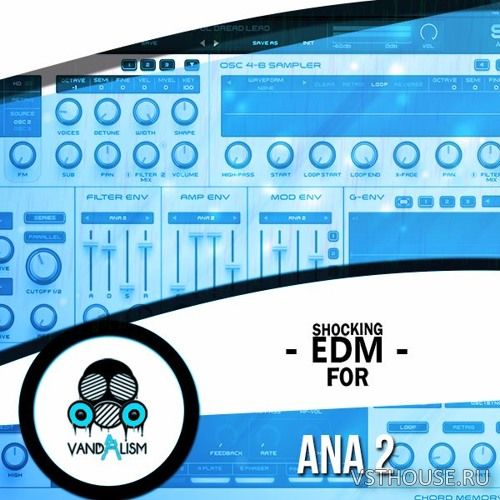 Vandalism - Shocking EDM For ANA 2.0 (SYNTH PRESET, MiDi)