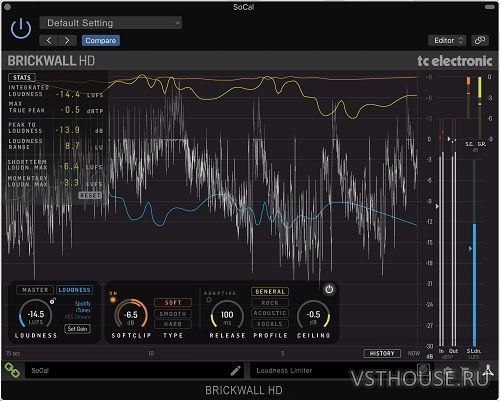 TC Electronic - BRICKWALLHD 1.0.02 VST, VST3, AAX x64