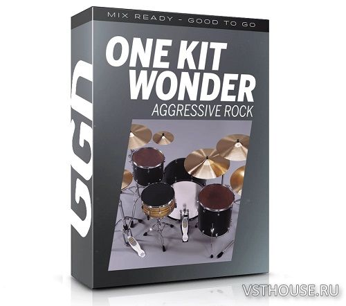 GetGood Drums - One Kit Wonder Aggressive Rock (KONTAKT)