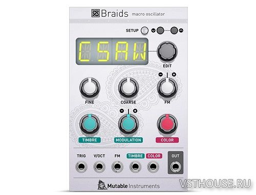 Softube - Mutable Instruments Braids v2.5.9 SSX x64