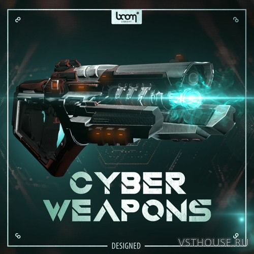 Boom Library - Cyber Weapons Designed (WAV)