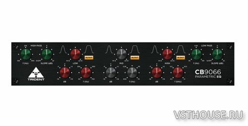 Trident Audio Developments - CB9066 EQ Plugin 1.0.0 VST3, AAX x64