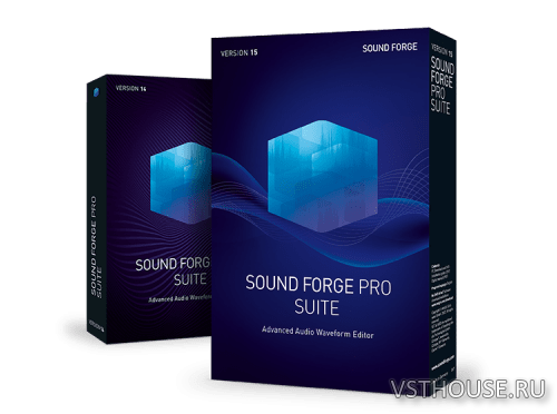 MAGIX - Sound Forge Pro Suite 15.0.0 build 27 x86 x64