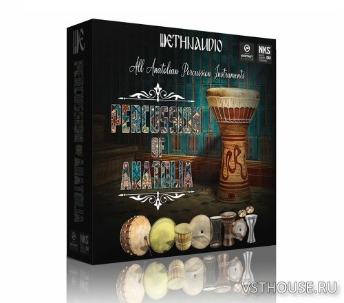Ethnaudio - Percussion Of Anatolia (KONTAKT)